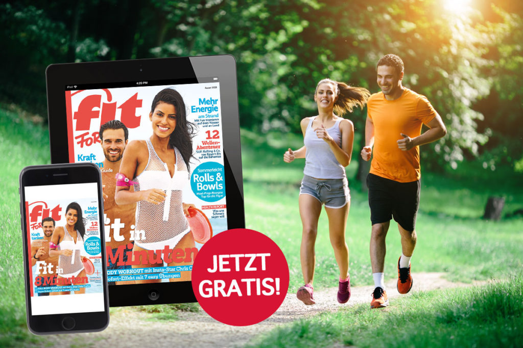 FIT FOR FUN gratis!